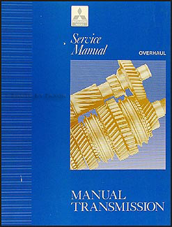1992-1993 Mitsubishi Automatic Transmission Overhaul Manual Original