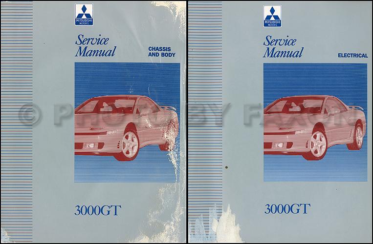 1992 1994 mitsubishi 3000gt original repair shop manual 2 vol set rh faxonautoliterature com mitsubishi gto owners manual mitsubishi gto owners manual