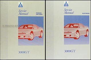 1992 1996 mitsubishi 3000gt repair shop manual original set rh faxonautoliterature com mitsubishi 3000gt service manual free download mitsubishi 3000gt owners manual pdf