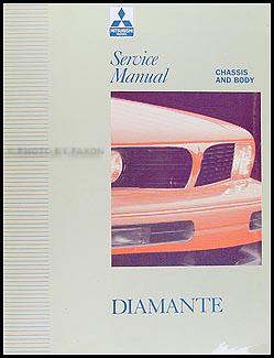 1992 1996 mitsubishi diamante repair shop manual set original rh faxonautoliterature com 2004 Mitsubishi Diamante 1992 Mitsubishi Diamante