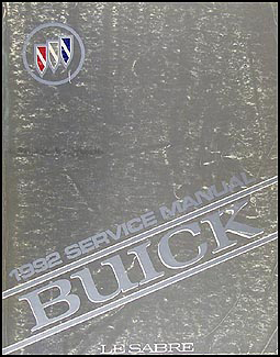 1992 Buick LeSabre Repair Manual Original