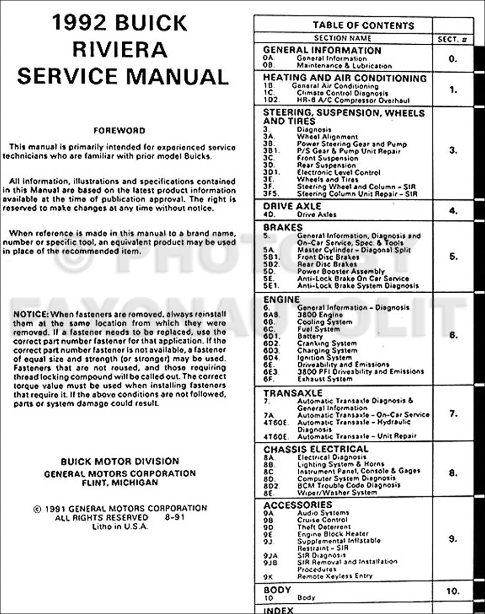 1992 buick century special engine diagram 1992 pontiac