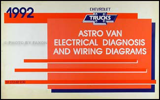 1992 chevy astro van wiring diagram manual original rh faxonautoliterature com 2004 chevy astro van wiring diagram 2005 chevy astro van wiring diagram