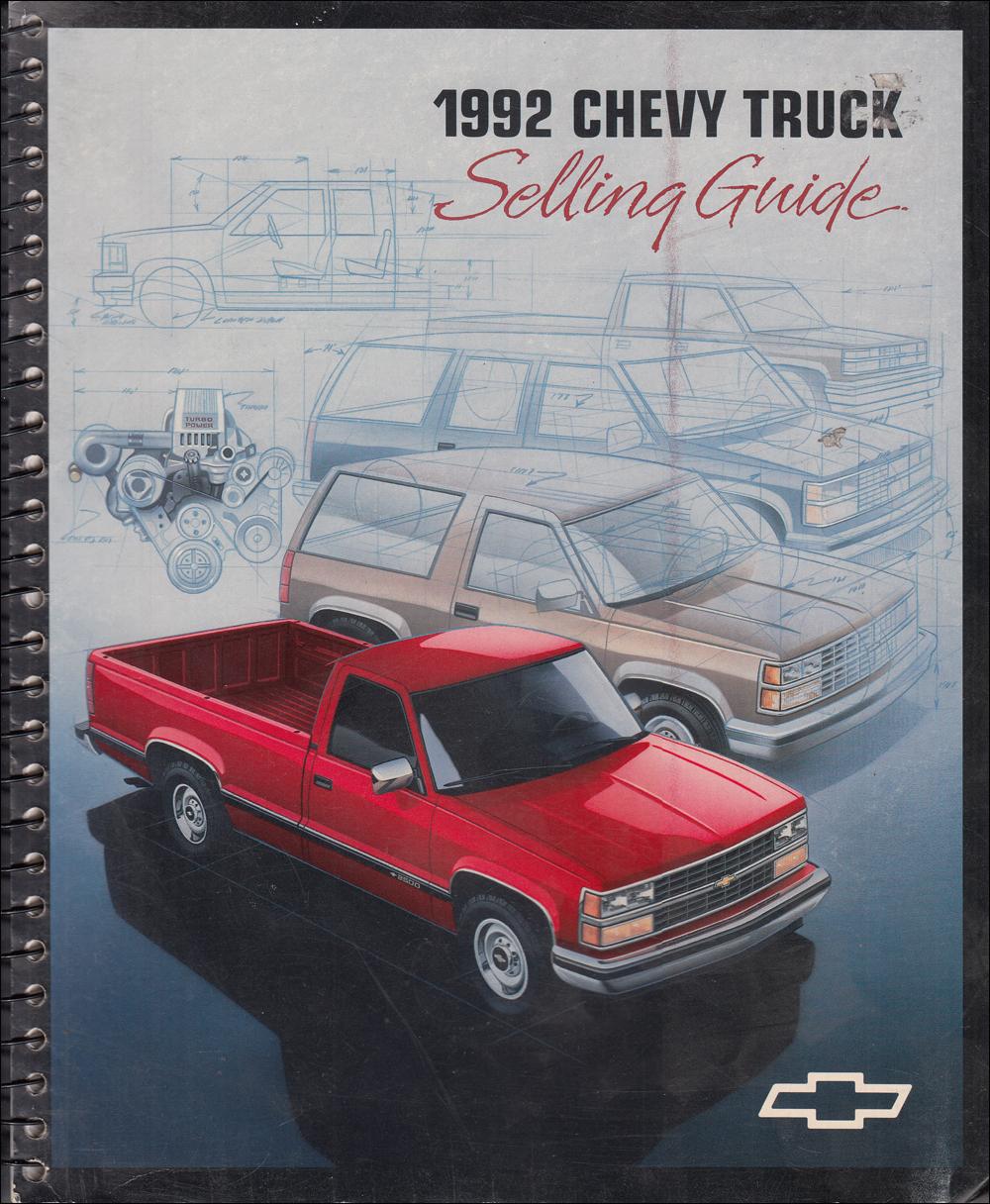 1992 Chevy C  K Pickup  Suburban  Blazer Wiring Diagram
