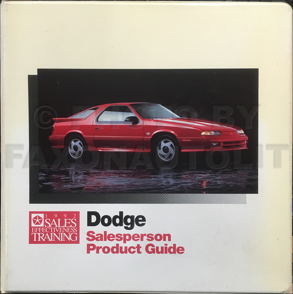 1992 Dodge Pickup Truck & Ramcharger Repair Shop Manual