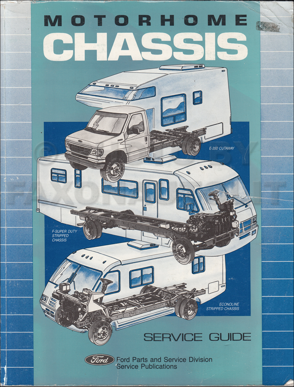ford motorhome chassis service guide original