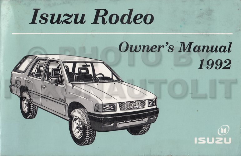 isuzu rodeo schematics
