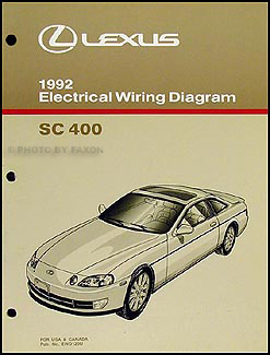1992LexusSC400WD 1992 lexus sc 400 wiring diagram manual original Electrical Wiring Diagrams For Dummies at bakdesigns.co