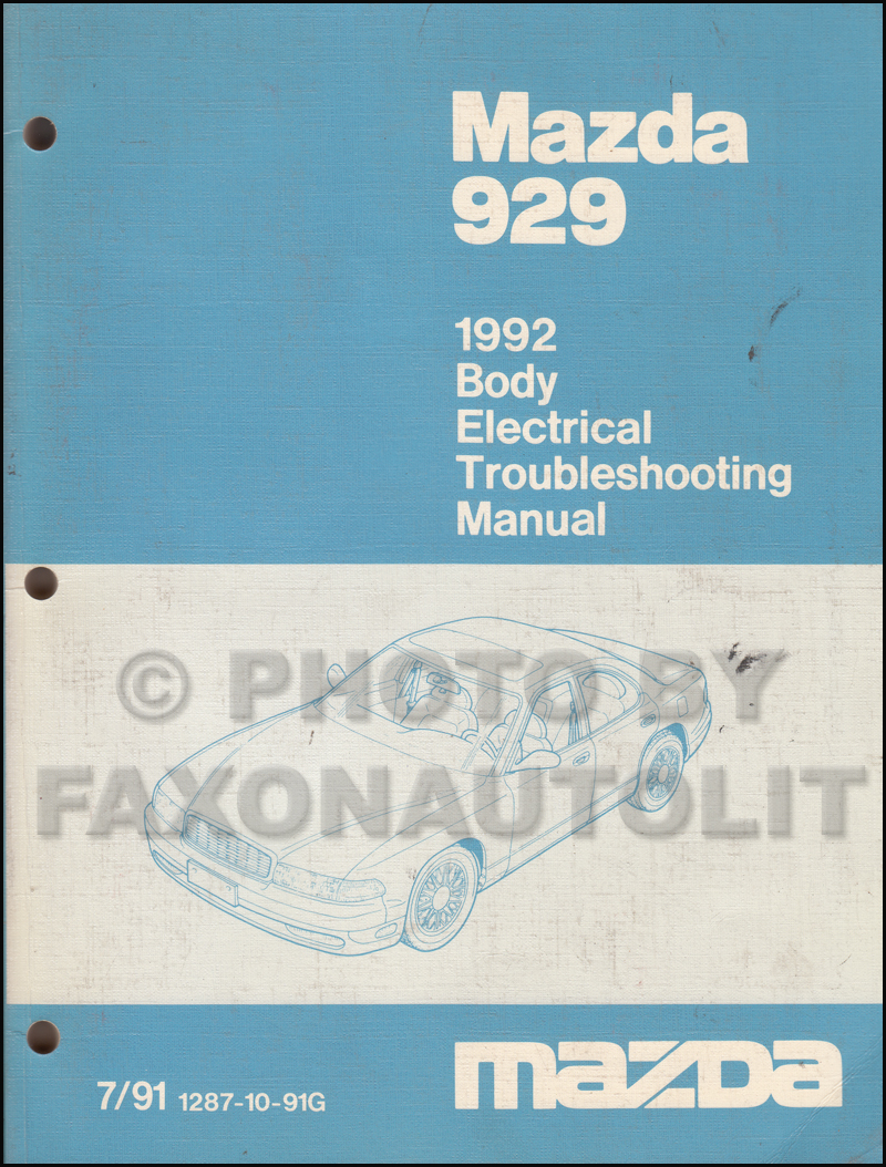 Mazda 929 Wiring Diagram - Trusted Wiring Diagram •