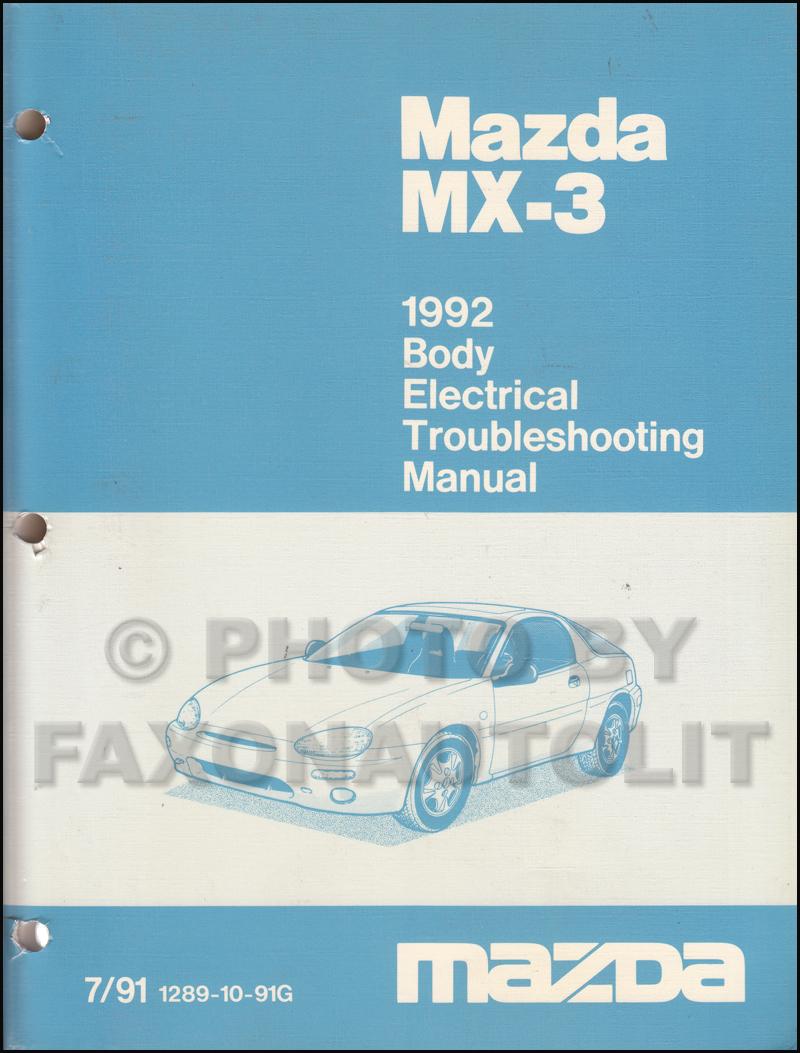 mazda 323 repair manual free download