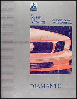 1992 mitsubishi diamante repair shop manual original rh faxonautoliterature com 2003 Mitsubishi Diamante 1993 Mitsubishi Diamante Distributor Connector
