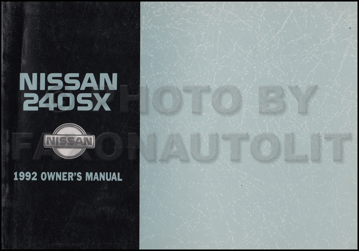 1992 Nissan 240sx Wiring Diagram Manual Original