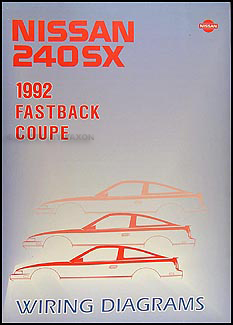 1992 nissan 240sx wiring diagram manual original. Black Bedroom Furniture Sets. Home Design Ideas