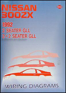 1992 nissan 300zx wiring diagram manual original radio wiring diagram for 1989 nissan 300zx #4