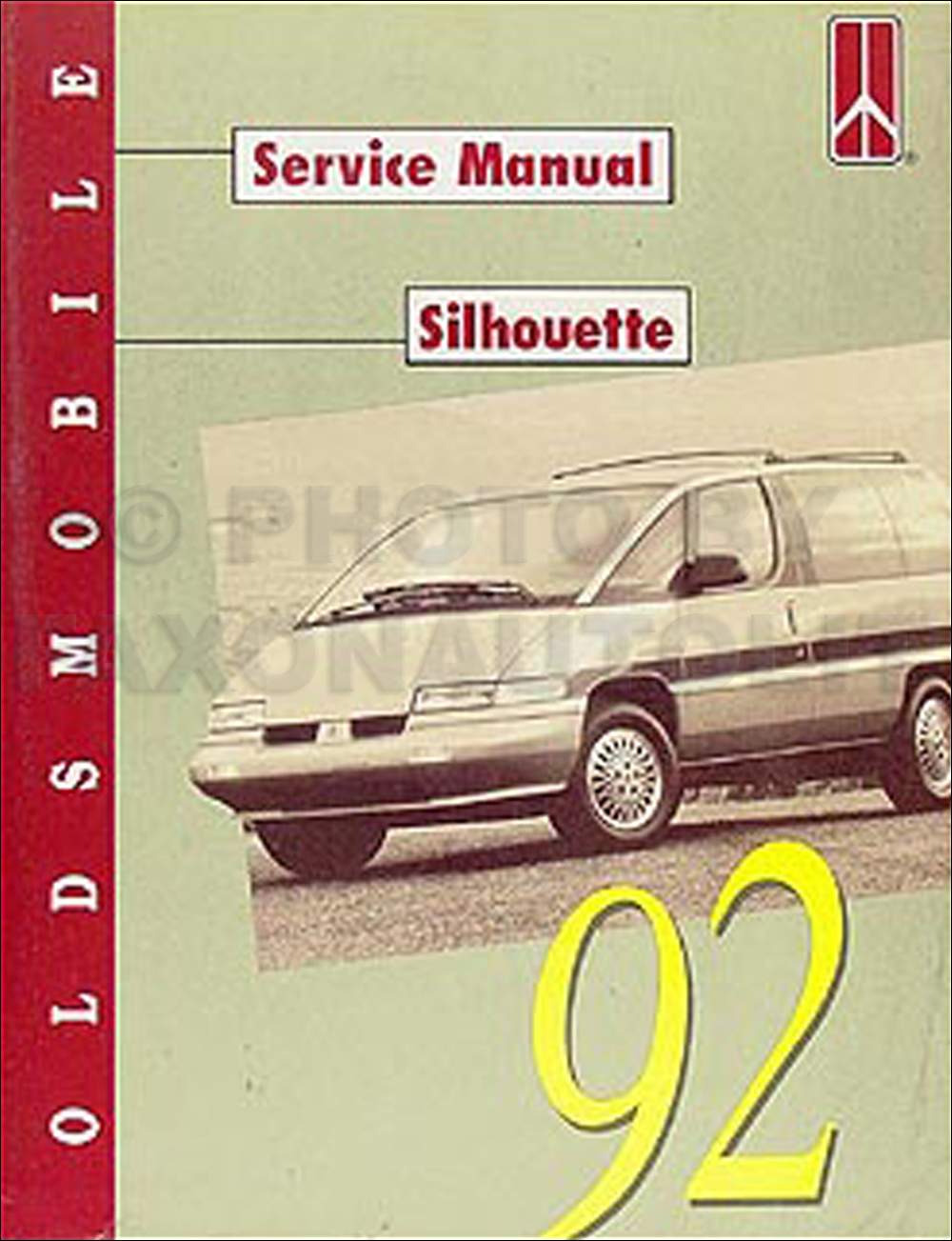 1992 Oldsmobile Silhouette Van Repair Manual Original