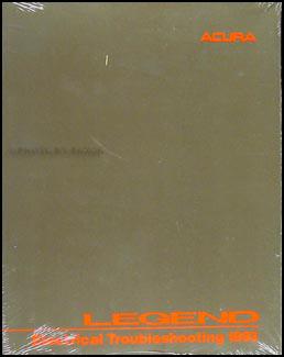 Acura Repair on 1991 1995 Acura Legend Sedan Original Body Repair Shop Manual