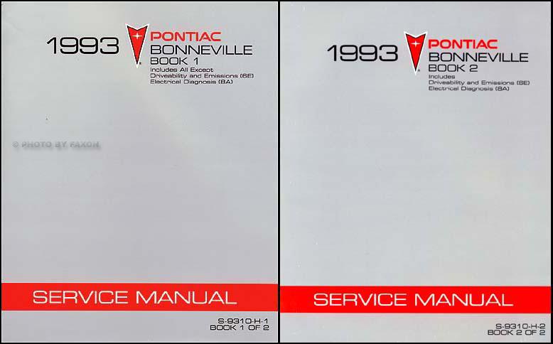 1993 pontiac bonneville repair shop manual original 2 volume set rh faxonautoliterature com 2002 pontiac bonneville repair manual pontiac bonneville repair manual pdf