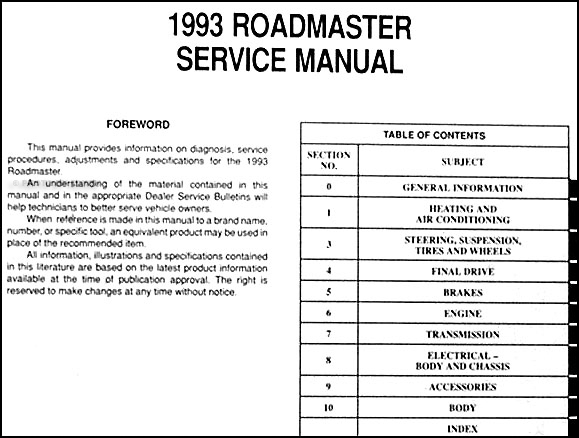 1993 buick fuse box 1993 cadillac fuse box diagram 1993 buick roadmaster repair shop manual original
