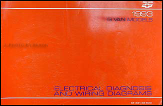 1993 chevy g van wiring diagram manual original. Black Bedroom Furniture Sets. Home Design Ideas