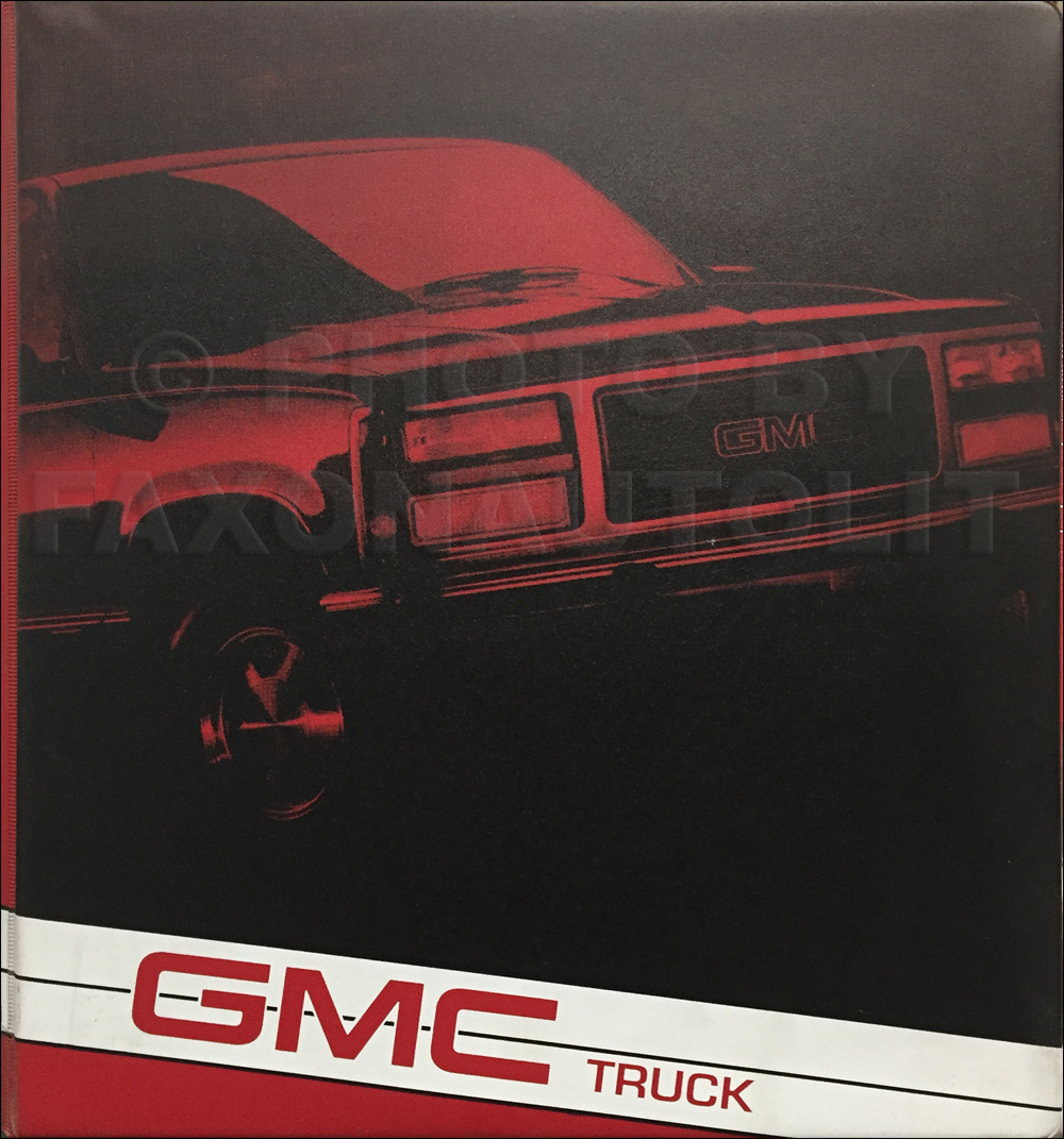 1993 Gmc P Motorhome  U0026 Fc  Value Van  Motor Home Wiring Diagram Manual