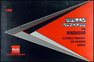 1993GMGVanWD 1993 gmc g van vandura rally wiring diagram manual original 1996 GMC Vandura at gsmportal.co