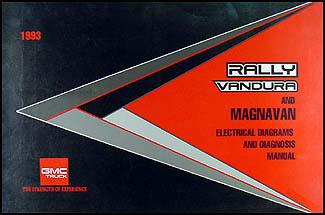1993GMGVanWD 1993 gmc g van vandura rally wiring diagram manual original 1996 GMC Vandura at soozxer.org