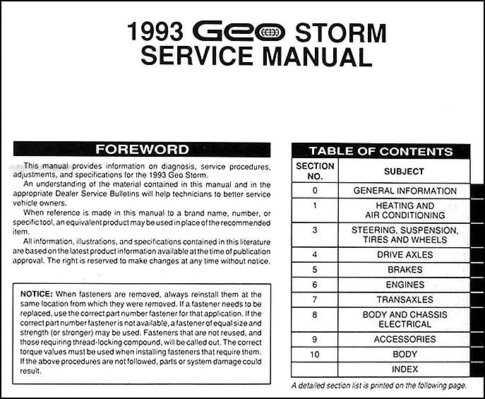 97 geo prizm wiring diagrams