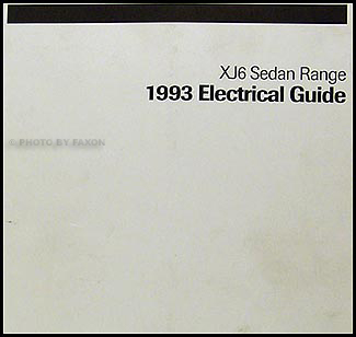 1993JaguarXJ6WD 1993 jaguar xj6 electrical guide wiring diagram original 1988 XJ6 Vanden Plas at couponss.co