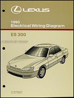 1993 lexus es 300 wiring diagram manual original rh faxonautoliterature com