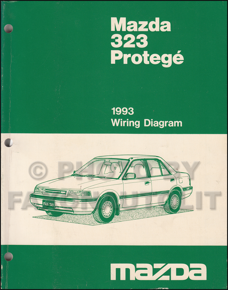 1993 mazda 323 and protege wiring diagram manual original cheapraybanclubmaster Image collections