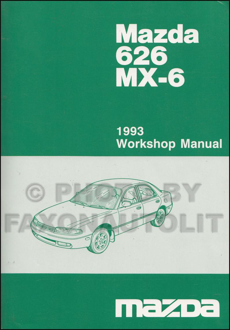 1993 Mazda 626 And Mx