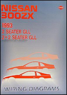 1993 nissan 300zx wiring diagram manual original