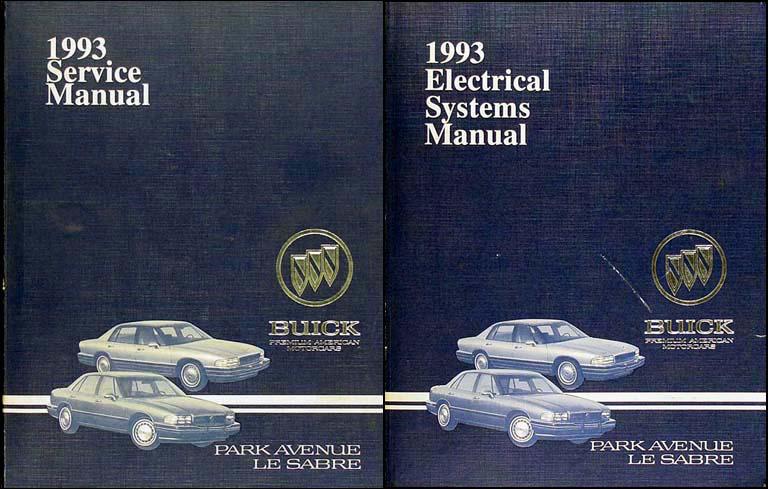 Search 1993 buick park avenue ultra and le sabre repair shop manual original set publicscrutiny Choice Image