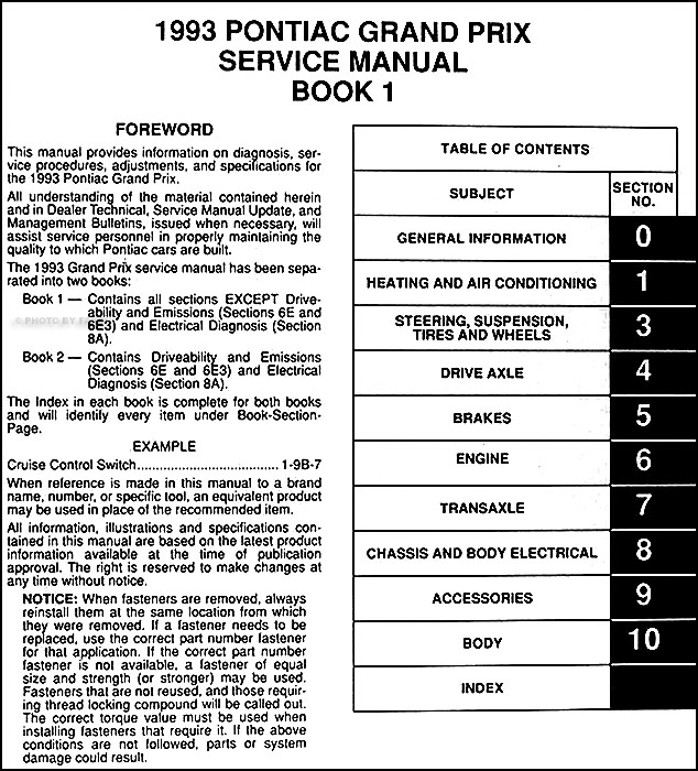 93 pontiac grand prix wiring diagram   36 wiring diagram