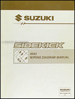 1993SuzukiSidekickWD 1993 suzuki sidekick 1600 and sport 1800 x 90 wiring diagram manual suzuki sidekick wiring diagrams at crackthecode.co