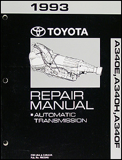 toyota runner wiring diagram manual original 1993 toyota 4runner and truck automatic transmission overhaul manual