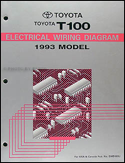 1993ToyotaT100WD 1993 toyota t100 truck wiring diagram manual original toyota t100 wiring diagram at crackthecode.co