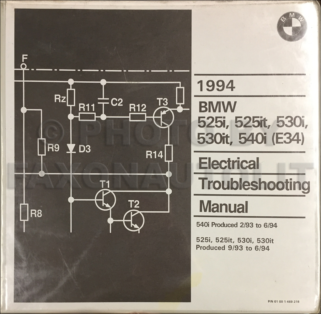 Bmw 525i 525it 535i M5 1993 Electrical Troubleshooting Manual Online