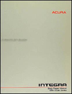 1994-1999 Acura Integra Original Body Repair Manual