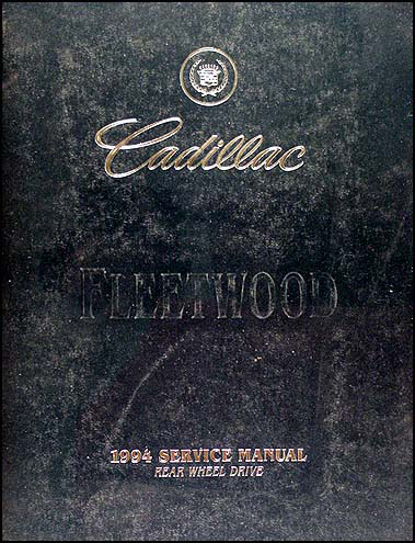 1994 Cadillac Fleetwood & Brougham Shop Manual Original
