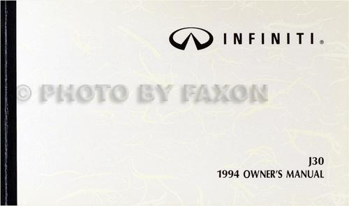 1995 Infiniti Q45 Owners Manual