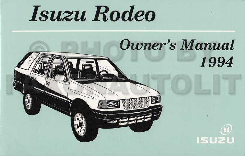 1994 isuzu amigo manual online user manual u2022 rh pandadigital co 1993 Isuzu Amigo 1996 isuzu rodeo repair manual free