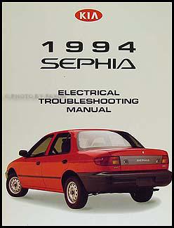 1994 kia sephia electrical troubleshooting manual original rh faxonautoliterature com Kia Soul Wiring Diagrams Ford Mustang Wiring Diagram