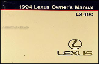1990 lexus ls400 repair manual