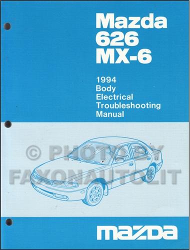 1994 Mazda 626  U0026 Mx