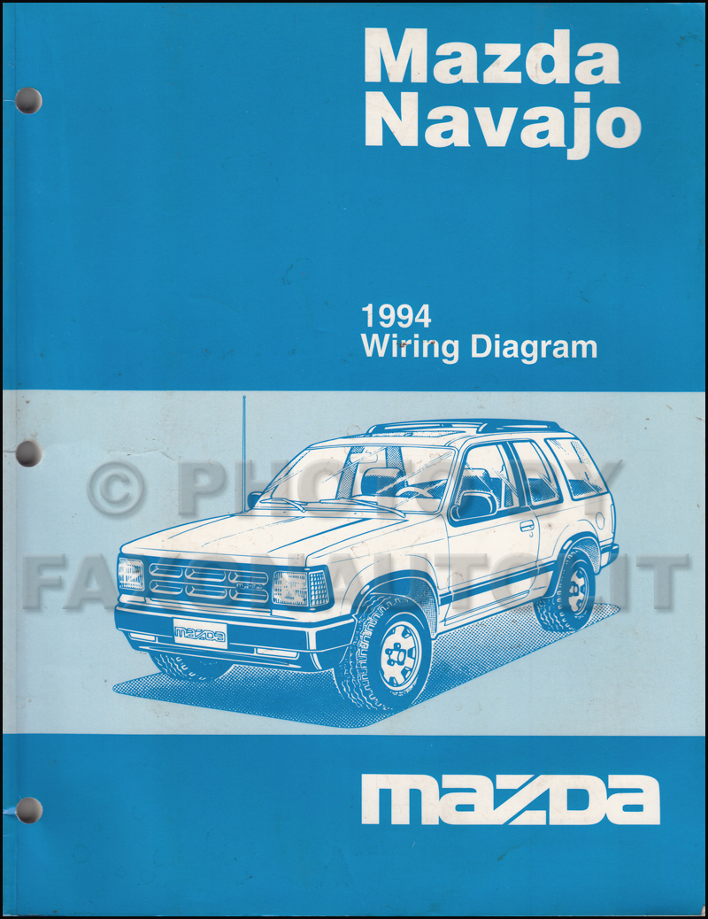 1994MazdaNavajoOWD 1994 mazda navajo wiring diagram wiring diagrams Trailer Wiring Diagram at gsmx.co