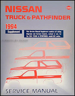 1994 nissan pathfinder repair manual