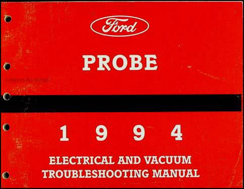 ford probe repair manual pdf