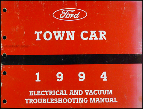 1994 lincoln town car electrical and vacuum troubleshooting manual. Black Bedroom Furniture Sets. Home Design Ideas