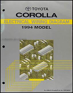 wiring diagram for 1994 toyota corolla 1994 toyota corolla wiring diagram manual original wiring diagram for 2006 toyota corolla #5